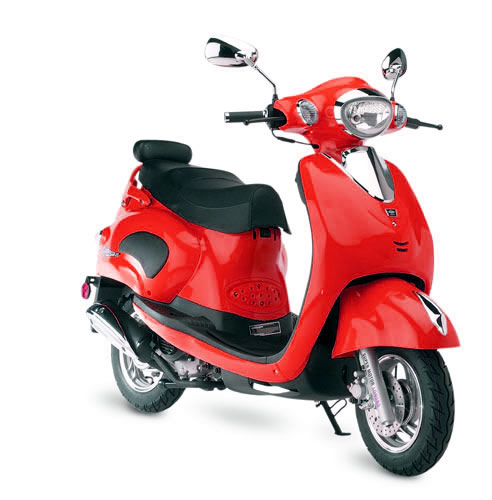 Geely And Jalon Motorized Scooters 4 Stroke Gas Powered